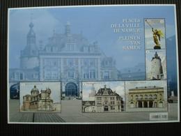 Volledig Postfris Velletje Zegels **pleinen Van Namen** - Hojas