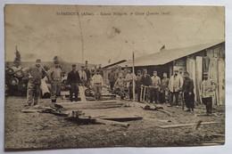 Carte Postale St Pardoux Scierie Militaire 5e Génie (janvier 1916) - Andere Gemeenten