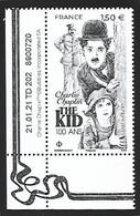 France 2021 - Yv N° 5473 ** - Charlie Chaplin  (The Kid) - Unused Stamps