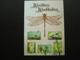 Volledig Postfris Velletje Zegels **libellen** - Hojas