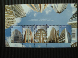 Volledig Postfris Velletje Zegels ** Hoogbouw In Belgie** - Hojas