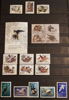 CCCP BIRDS LOT 10 COMPLET SETS +BLOCK PERFORED MNH - Sin Clasificación