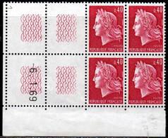 Coin Daté Cheffer N° 1536B Du 6/1/1969 ** - 1960-1969
