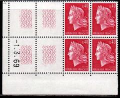 Coin Daté Cheffer N° 1536B Du 1/3/1969 ** - 1960-1969