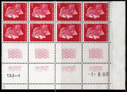Coin Daté Cheffer N° 1536B Du 1/8/1969 ** - 1960-1969