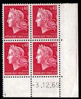 Coin Daté Cheffer N° 1536B Du 3/12/1969 ** - 1960-1969