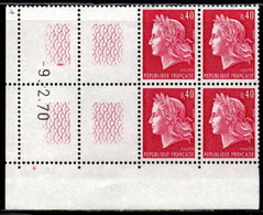 Coin Daté Cheffer N° 1536B Du 9/2/1970 ** - 1970-1979