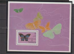 Antigua Et Barbuda 1985 Papillons BF 92 ** MNH - Antigua And Barbuda (1981-...)