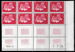 Coin Daté Cheffer N° 1536B Du 7/7/1970 ** - 1970-1979