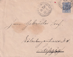 FIN LANDE 1890 LETTRE DE HELSINGFORS - Covers & Documents