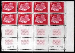Coin Daté Cheffer N° 1536B Du 22/7/1970 ** - 1970-1979