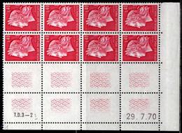 Coin Daté Cheffer N° 1536B Du 29/7/1970 ** - 1970-1979