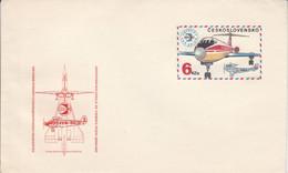 TCHECOSLOVAQUIE ENTIER LETTRE NEUF 1974 AVIATION - Sobres