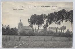 Environs De Velaines ( Tournai ) Popuelles : L'église  JE VENDS MA COLLECTION PRIX SYMPAS REGARDEZ MES OFFRES - Unclassified