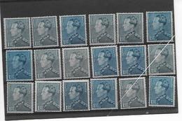 België  Poortman  N° 430 Xx Postfris 18 Zegels - 1936-1951 Poortman