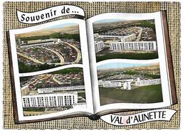 60 - VAL D'AUNETTE - Souvenir - Livre Ouvert - 4 Vues - Andere Gemeenten