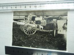 Photo Guerre 1914-1918 - Enfant Et Chien Sur Canon De 75 - - War, Military