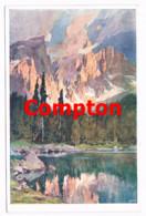 709 E.H.Compton Lago Di Carezza Karersee Dolomiten Künstlerkarte - Ohne Zuordnung