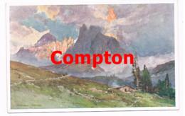 711 E.H.Compton Cimon Della Pala Rollepaß Dolomiten Künstlerkarte - Ohne Zuordnung