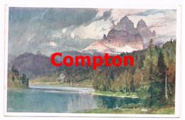 712 E.H.Compton Misurinasee Lago Di Misurina Drei Zinnen Künstlerkarte - Ohne Zuordnung