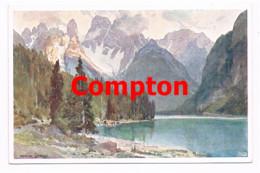 714 E.H.Compton Dürrensee Lago Di Landro Dolomiten Künstlerkarte - Ohne Zuordnung