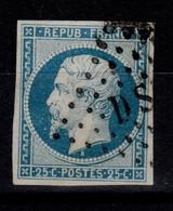 REPUB YV 10 , Obliteration Ambulant , 4 Belles Marges , Pas Aminci Cote 45 Euros - 1852 Luigi-Napoleone