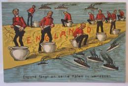 Großbritannien, England Fängt An Seine Häfen Zu Verlassen (31045) - Guerra 1914-18