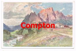 716 E.H.Compton Cortina D`Ampezzo Pagagnon Künstlerkarte - Ohne Zuordnung