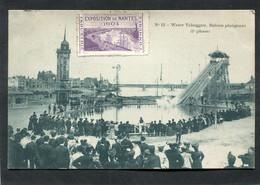 CPA - Exposition De NANTES 1904 - Water Toboggan - Bateau Plongeant - Nantes