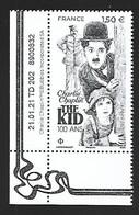 France 2021 - Charlie Chaplin ** (The Kid) - Ungebraucht