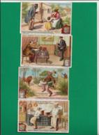 Quatre Cartes D La Série S 621, Zitate, En Allemand - Liebig