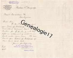 96 2889 AUSTRALIE AUSTRALIA BRISBANE Queensland 1890 THE CASTEMAINE BREWERY & QUINLAN GRAY & BRISBANE LIMITED - Australia