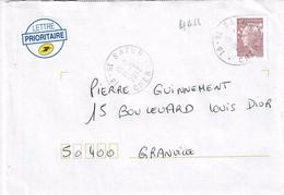 TP N° 4618 Seul Sur Enveloppe De Satur - 1961-....