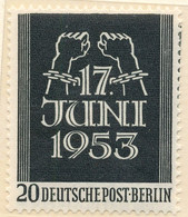Stamps Germany 1953 MNH - Unused Stamps