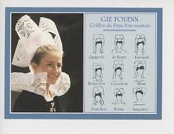 Giz Fouenn Coiffes Du Pays Fouesnantais - Dessin René Yves Creston Costumes Des Populations Bretonnes (n°5722) - Bretagne
