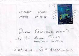 TP N° 4649 Seul Sur Enveloppe Du Bureau 42133A - 1961-....