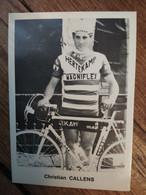 Cyclisme - Carte Publicitaire HERTEKAMP MAGNIFLEX 1971 : CALLENS - Cycling