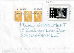 TP N° 4692 Avec 0,03ct En Marianne Sur Enveloppe Du Bureau 39376A - 1961-....