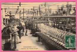 Panissières Intérieur Usine FROGET  Confection Textile  * Loire 42360 * Arrondisement De Montbrison - Machine à Tisser - Otros Municipios