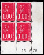 Coin Daté Bequet N° 1892 Du 15/6/1976 ** - 1970-1979