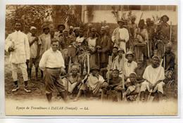 SENEGAL DAKAR Equipe De Travailleurs  /D12-2018 - Senegal