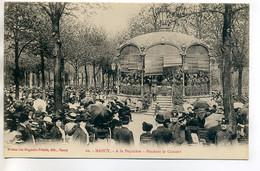 54 NANCY 20 A La Pépiniere Pendant Concert De Musique Kiosque Foule  1920  /D12-2018 - Nancy