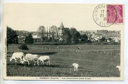 58 PREMERY Les Vaches Au Pré Abords Village 1939 - Imp Wayer 1 -  /D12-2018 - Other Municipalities