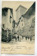 74 ANNECY 1357 Charnaux Freres - Enfants Impasse Du Trippoz 1906 Dos Non Divisé      /D12-2018 - Annecy