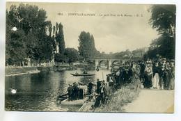 94 JOINVILLE Le PONT 1532 G.L - Anim Petit Bras De La Marne Promenade 1910   /D12-2018 - Joinville Le Pont