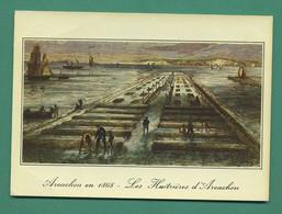 33 Arcachon Les Huitrières Le Parc A Huitres Le Parc Impérial Du Lahillon Arcachon En 1868 - Arcachon