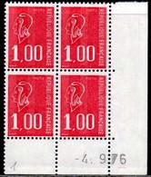 Coin Daté Bequet N° 1892 Du 4/9/1976 ** - 1970-1979