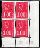 Coin Daté Bequet N° 1892 Du 28/10/1976 ** - 1970-1979