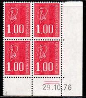 Coin Daté Bequet N° 1892 Du 29/10/1976 ** - 1970-1979