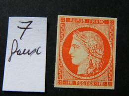Ceres  No 7 Faux - 1849-1850 Ceres